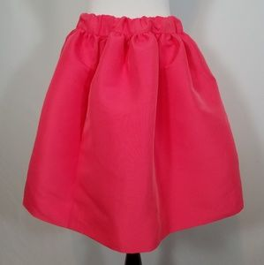 Kate Spade NY Size 4 Gathered Mini Skirt Pink